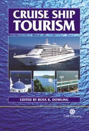 Cover of: Cruise ship tourism |