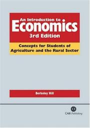 Cover of: An Introduction to Economics