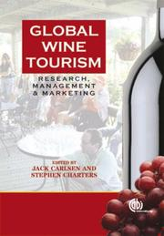 Cover of: Global Wine Tourism | J. Carlsen