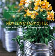 Cover of: New Container Style | Adam Caplin