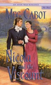 Cover of: Nicola and the Viscount