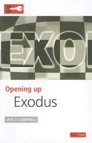 Cover of: Exodus (Opening Up) | Iain D. Campbell
