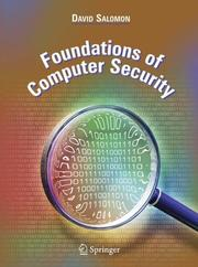 Cover of: Foundations of Computer Security