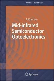 Cover of: Mid-infrared Semiconductor Optoelectronics | Anthony Krier
