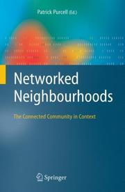 Cover of: Networked Neighbourhoods