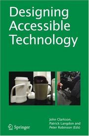 Designing Accessible Technology by
