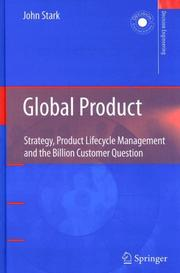 Cover of: Global Product | John Stark