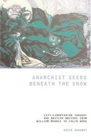 Cover of: Anarchist Seeds Beneath the Snow | David Goodway