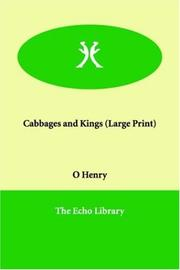 Cover of: Cabbages and Kings