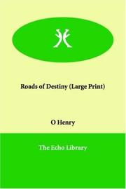 Cover of: Roads of Destiny