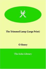 Cover of: The Trimmed Lamp