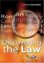 Cover of: Studying the Law (Student Guides to University Entrance) | Sean Butler