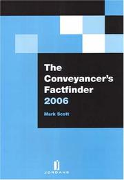 Cover of: The Conveyancer's Factfinder 2006