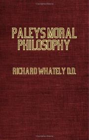 Cover of: Paley's Moral Philosophy, With Annotations