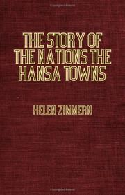 Cover of: The Hansa Towns | Helen Zimmern