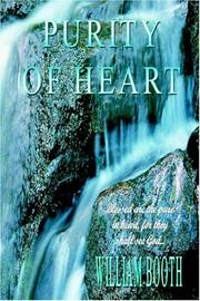 Cover of: Purity of Heart