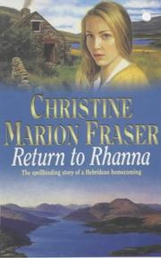 Cover of: Return to Rhanna