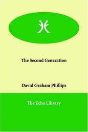 Cover of: The Second Generation | David Graham Phillips
