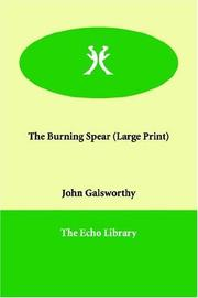 Cover of: The Burning Spear