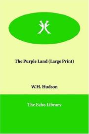 Cover of: The Purple Land