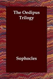 Cover of: Oedipus Trilogy
