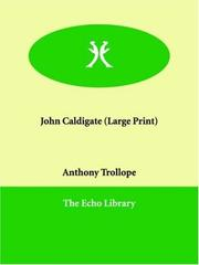 Cover of: John Caldigate | Anthony Trollope