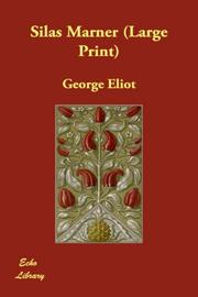 Cover of: Silas Marner (Large Print) | George Eliot