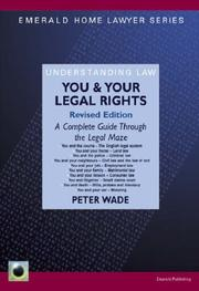 Cover of: You and Your Legal Rights (Emerald Home Lawyer)
