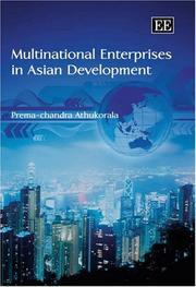 Cover of: Multinational Enterprises in Asian Development | Prema-chandra Athukorala