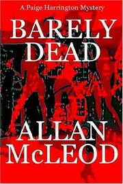 Cover of: Barely Dead