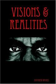 Cover of: Visions & Realities