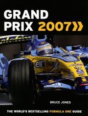 Cover of: Grand Prix 2007 | Bruce Jones
