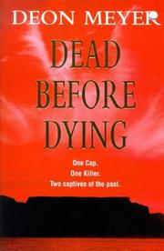 Cover of: Dead Before Dying: A Novel