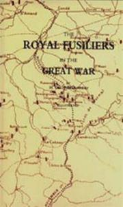 Cover of: ROYAL FUSILIERS IN THE GREAT WAR | H. C. O