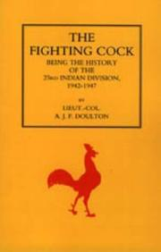 Cover of: FIGHTING COCK | Lieut. Col. A. J. F. Doulton