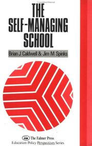 Cover of: The self-managing school