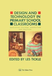 Cover of: Design And Technology In Primary School Classrooms