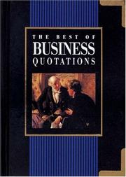 Cover of: The Best of Business Quotations (Best of Quotations) | Helen Exley