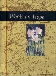 Cover of: Words on Hope (Words for Life) | Helen Exley
