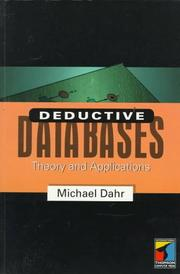 Cover of: Deductive databases | Michael Dahr