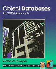 Cover of: Object databases | Cooper, Richard