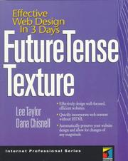 Cover of: FutureTense Texture | Taylor, Lee