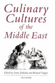 Cover of: Culinary cultures of the Middle East |
