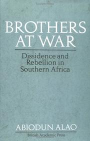 Cover of: Brothers at war