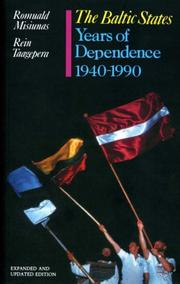Cover of: The Baltic States | Romuald J. Misiunas, Rein Taagepera