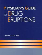 Cover of: Physicians' guide to drug eruptions