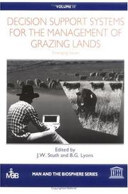 Cover of: Decision support systems for the management of grazing lands |