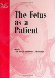 Cover of: The fetus as a patient