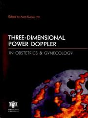 Cover of: Three-Dimensional Power Doppler in Obstetrics and Gynecology