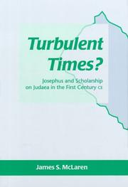 Cover of: Turbulent Times? | James S. McLaren